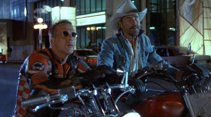 Харлей Дэвидсон и ковбой Мальборо - Harley Davidson and the Marlboro Man