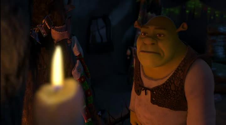 Шрек мороз, зеленый нос - Shrek the Halls