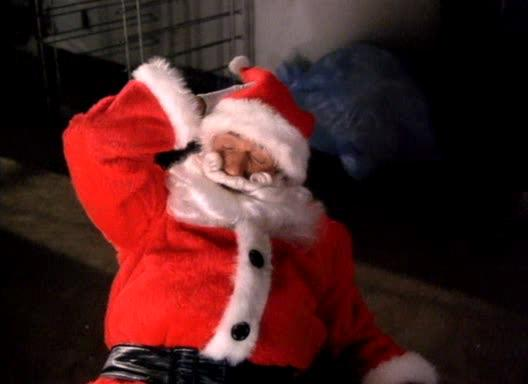 Силач Санта-Клаус - Santa with Muscles