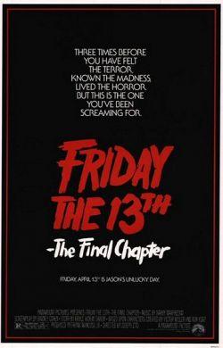 Пятница 13 - Часть 4: Последняя глава - Friday the 13th: The Final Chapter