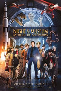 Ночь в музее 2 - Night at the Museum: Battle of the Smithsonian