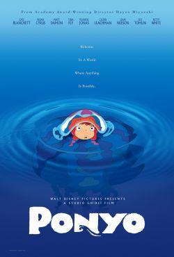 Рыбка Поньо на утесе - Gake no ue no Ponyo