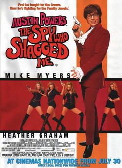 Остин Пауэрс: Шпион, который меня соблазнил - Austin Powers: The Spy Who Shagged Me