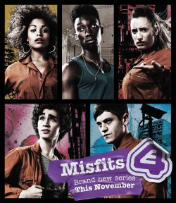 Отбросы (Плохие). Сезон 2 - Misfits. Season II