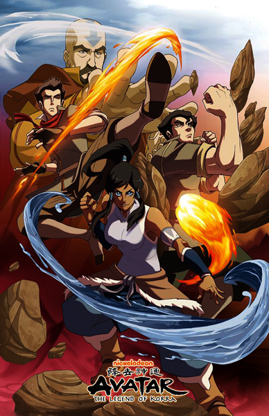 ������: ������� � ����� - (The Last Airbender: The Legend of Korra)