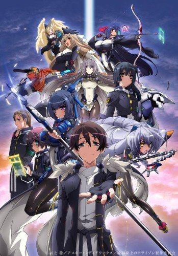 Горизонт посреди пустоты - (Kyoukai Senjou no Horizon TV)