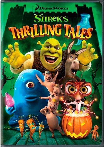 Захватывающие рассказы Шрэкa - (Shreks Thrilling Tales)