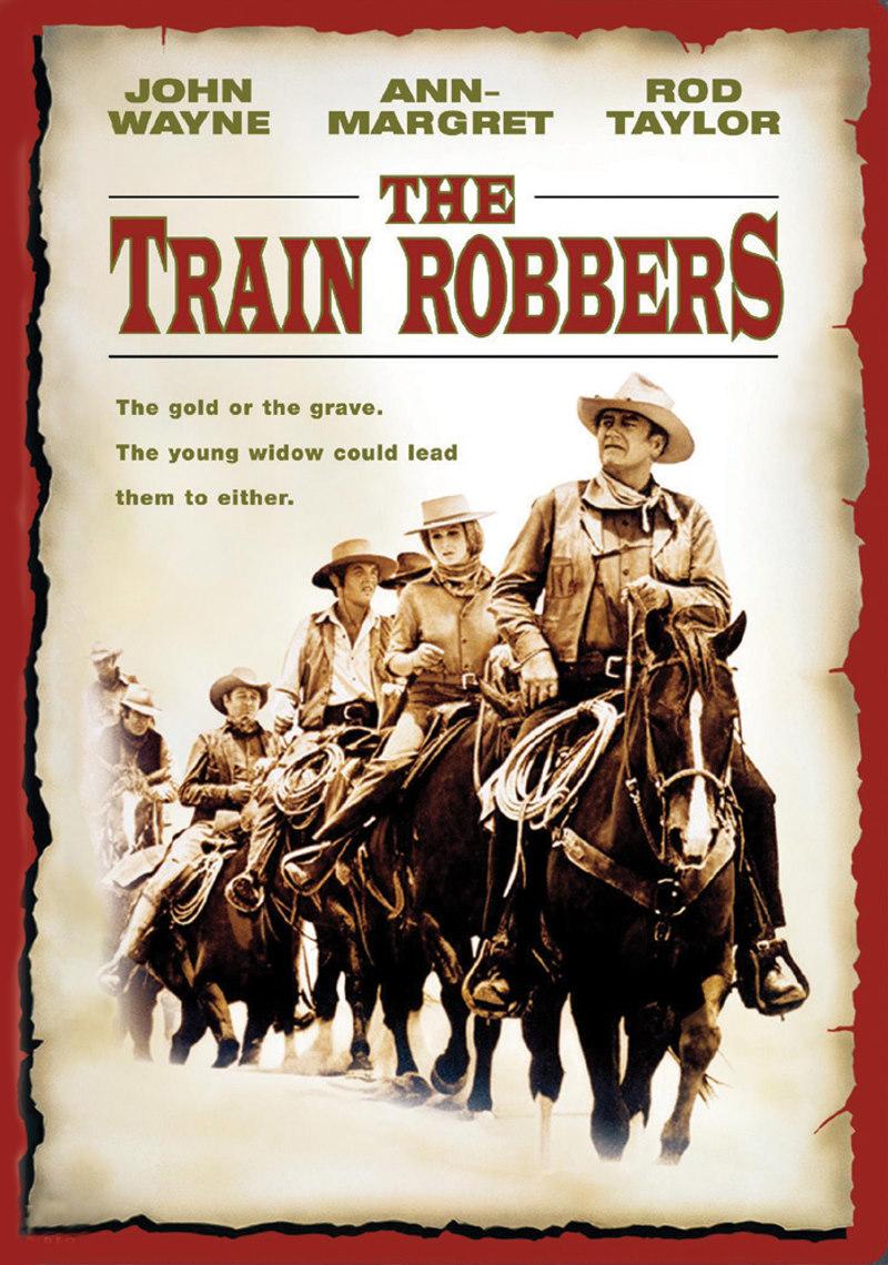 Грабители поездов - (The Train Robbers)