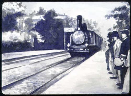 Прибытие поезда - (L'arrivГ©e d'un train Г La Ciotat)