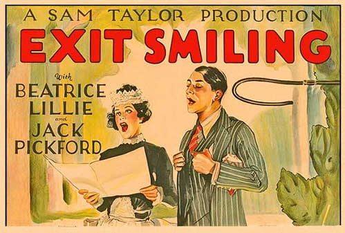 Уходит улыбаясь - (Exit Smiling)