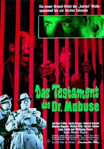 Завещание доктора Мабузе - (Das Testament des Dr. Mabuse)