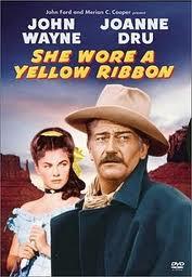 Она носила желтую ленту - (She Wore a Yellow Ribbon)
