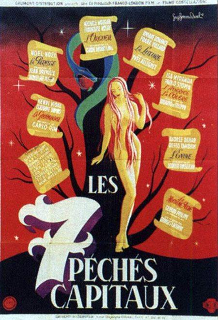 Семь смертных грехов - (Les Sept peches capitaux)