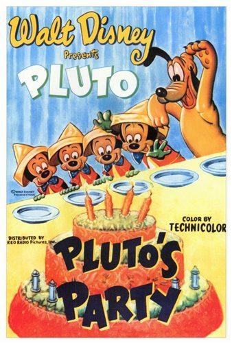 Вечеринка Плуто - (Pluto's Party)