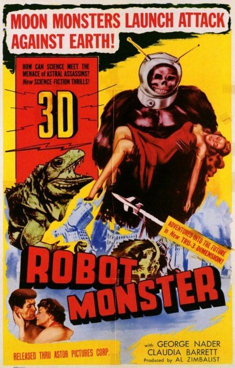 Робот-монстр - (Robot monster)