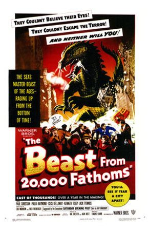 �������� � ������� 20000 ������� ������� - (The Beast from 20,000 Fathoms)