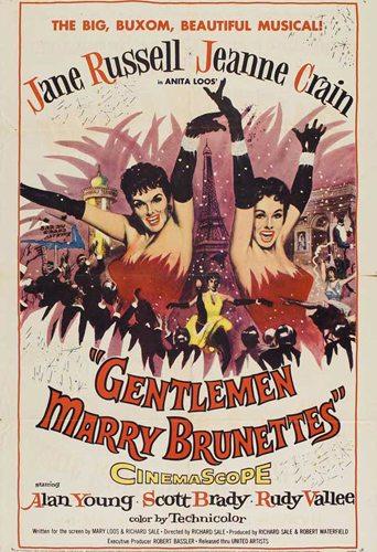 Джентльмены женятся на брюнетках - (Gentlemen Marry Brunettes)