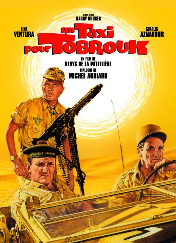 Такси до Тобрука - (Un taxi pour Tobrouk)