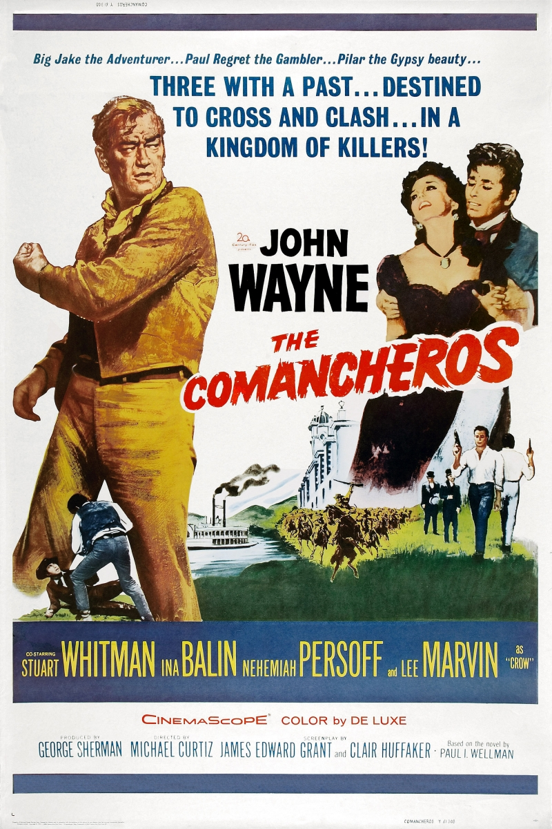 Команчерос - (The Comancheros)