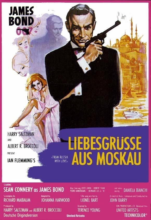 Джеймс Бонд. Агент 007 - Из России с любовью - (James Bond. 007 - From Russia With Love)