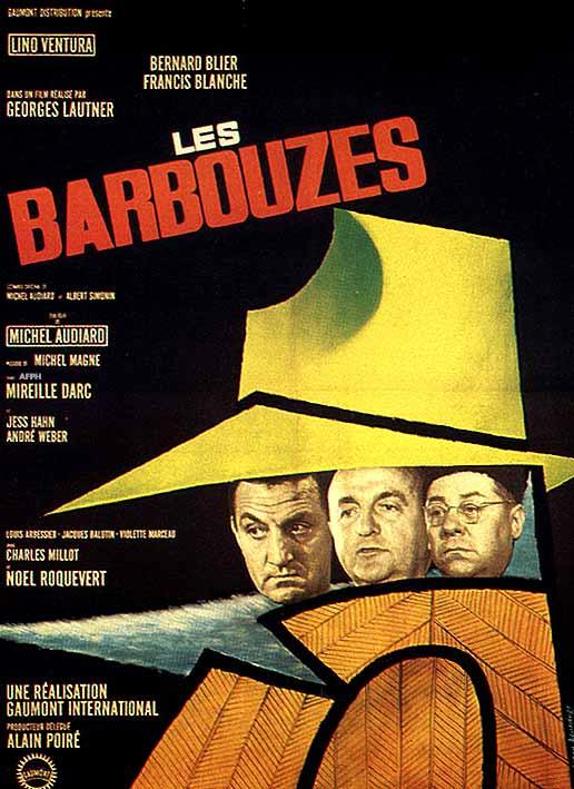 Барбузы - секретные агенты - (Les Barbouzes)