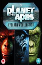 Планета обезьян: Пенталогия – 40 лет эволюции - (Planet of the Apes: 40-Year Evolution Collection)