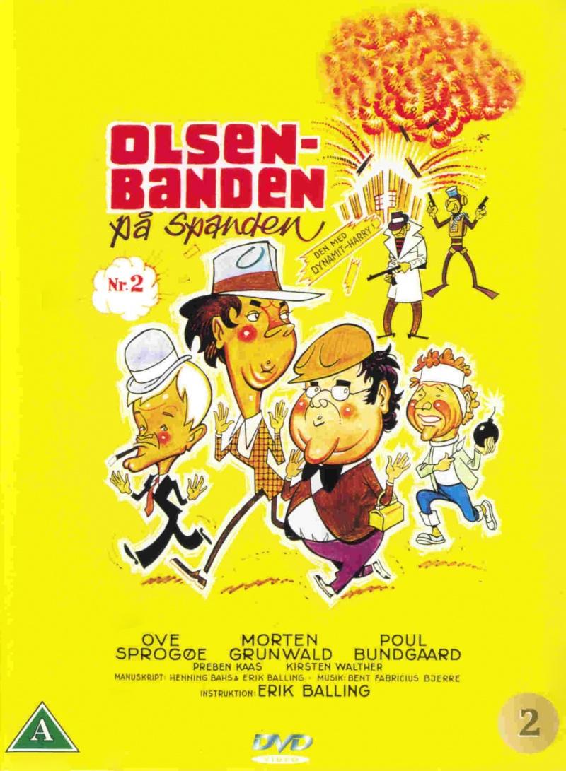 Банда Ольсена в упряжке - (Olsen-banden pГҐ spanden)