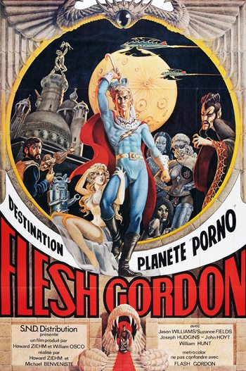 ���� ������ - (Flesh Gordon)