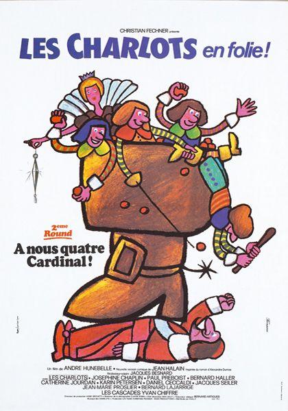 Четверо против кардинала - (Les Charlots en folie: A nous quatre Cardinal!)
