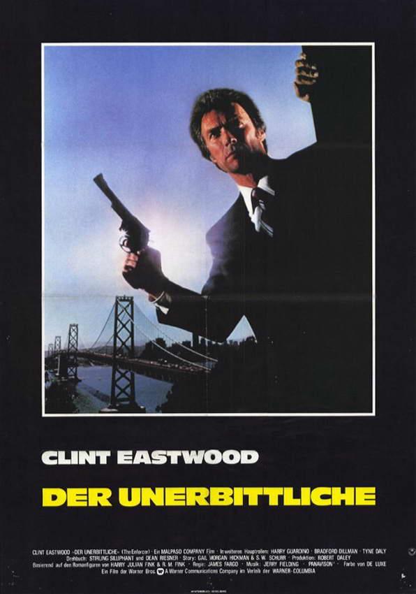 Грязный Гарри 3: Подкрепление (Блюститель закона) - (Dirty Harry 3: The Enforcer)