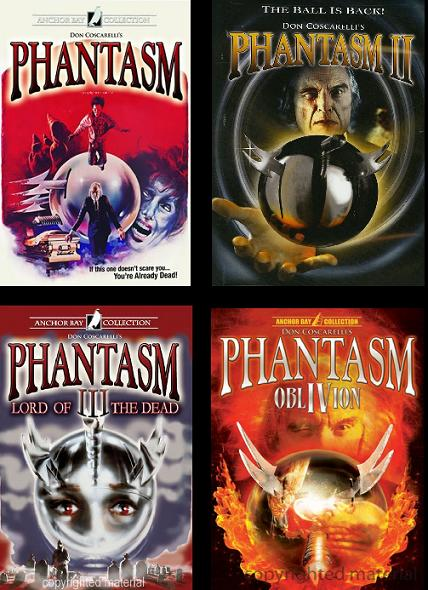 Фантазм 1-4 - (Phantasm 1-4)