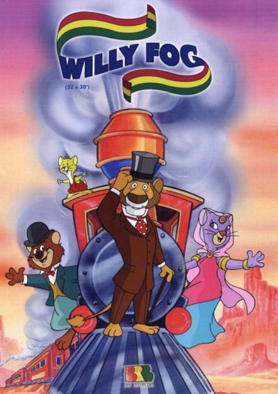 Вокруг света за 80 дней с Вилли Фогом - (80 Days Around the World With Willy Fog)