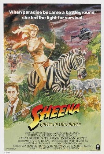 Шина - королева джунглей - (Sheena)