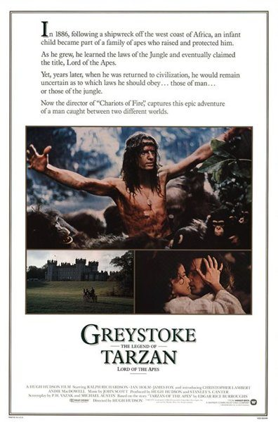 Грейстоук: Легенда о Тарзане, повелителе обезьян - (Greystoke: The Legend of Tarzan, Lord of the Apes)