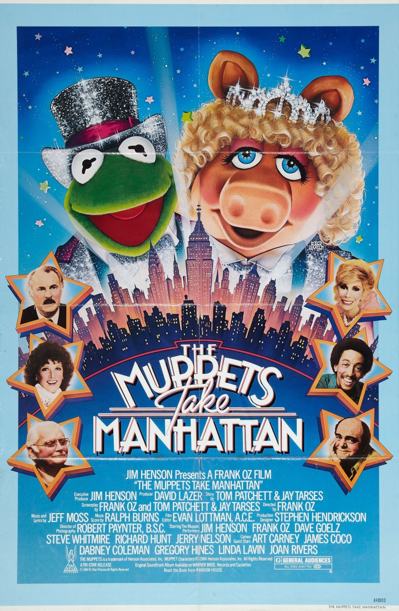 ������� ����������� ��������� - (The Muppets Take Manhattan)