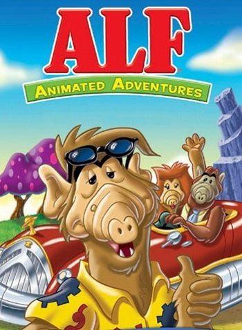 Альф: Мультсериал - (ALF: The Animated Series)