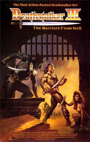 ������ ������ 3: ����� ��� - (Deathstalker and the Warriors from Hell)