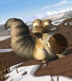 Белка - Scrats Lost Adventure ICE AGE International
