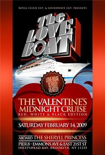 Лодка любви: Путешествие Валентина (Корабль Влюблённых) - (The Love Boat: A Valentine Voyage)