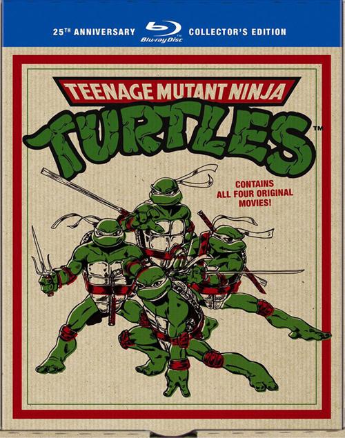 Черепашки ниндзя: Коллекционное издание - (Teenage Mutant Ninja Turtles Film Collection)