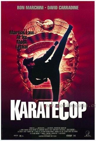 Полицейский-каратист - (Karate cop)