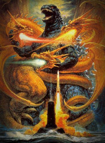 Годзилла против Кинга Гидоры - (Godzilla vs King Ghidorah )