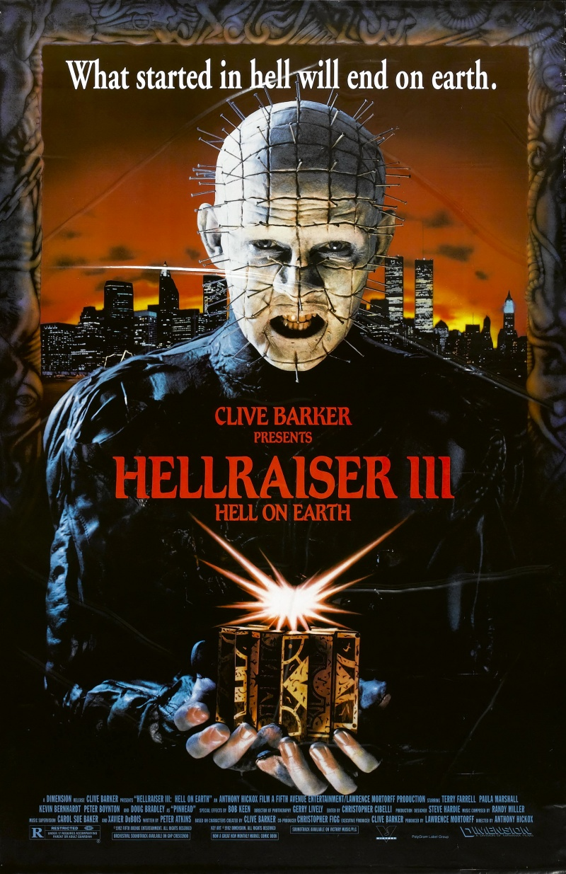 ���������� �� ��� 3: �� �� ����� - (Hellraiser III: Hell on Earth)