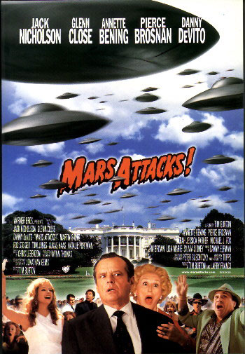 Марс атакует - (Mars attacks)