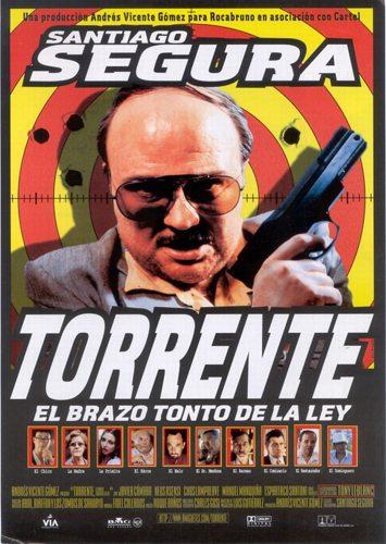 Торренте, глупая рука закона - (Torrente, el brazo tonto de la ley)