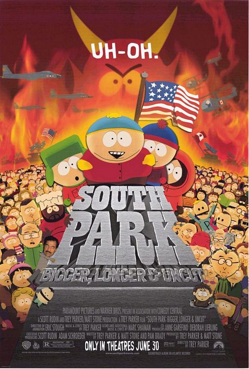 Южный Парк: Большой, длинный, необрезанный - (South Park: Bigger Longer & Uncut)