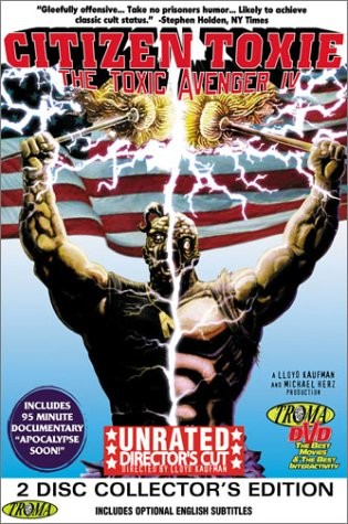 ��������� �������� 4: ��������� ����� - (The Toxic Avenger 4: Citizen Toxie)