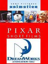 Коллекция короткометражных мультфильмов Pixar, Dreamworks, Sony animation и др.