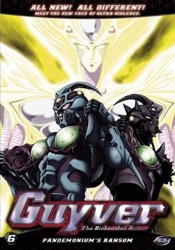 Гайвер: Био-ударное оружие - (Kyoushoku Soukou Guyver (Guyver - The Bioboosted Armor))