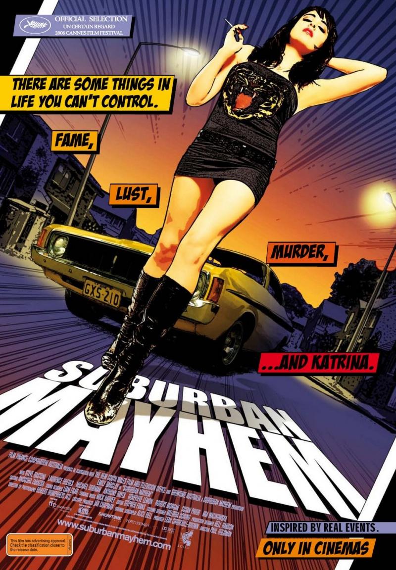 Беспредел на окраине - (Suburban Mayhem)